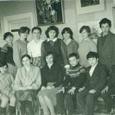 Выпускники Детской художественной школы - 1984г.