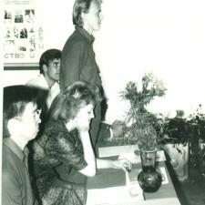 Экзаменационный просмотр в ДХШ-1989 г.