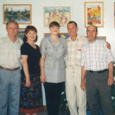 педагоги Детской художественной школы c Рагулиным В. Ф.-2002 г.